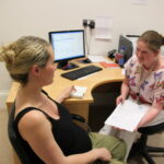 Pregnancy scans lead sonographer at Merrion Fetal Health